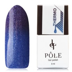 POLE, Гель-лак  №15, черничный и синий