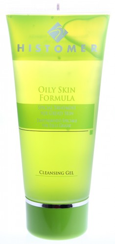 HISTOMER Гель очищающий для жирной и комбинированной кожи / Rinse-off cleansing gel OILY SKIN FORMULA 200 мл