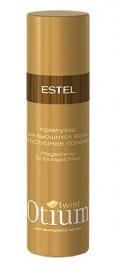 ESTEL PROFESSIONAL Крем-уход для вьющихся волос Послушные локоны / OTIUM Twist 100 мл