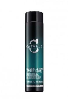 TIGI Шампунь для питания сухих и ломких волос / CATWALK Oatmeal & Honey 300 мл