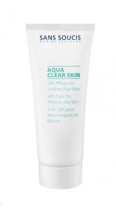 SANS SOUCIS Крем 24 часа с экстрактом магнолии для проблемной жирной кожи / 24h Care for impure oil skin 40 мл