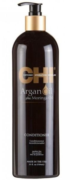 CHI Кондиционер с экстрактом масла арганы и дерева моринга / ARGAN OIL 739 мл