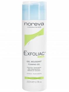 Норева (Noreva) Эксфолиак Гель очищающий с AHA без мыла для проблемной кожи 200 мл