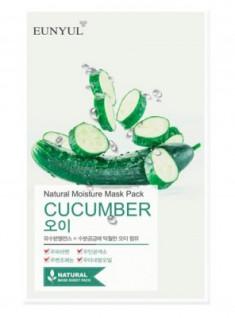 Тканевая маска с огурцом EUNYUL Natural moisture mask pack cucumber 23мл