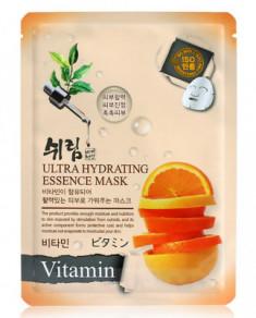 Маска тканевая с витаминами Shelim Ultra Hydrating Essence Mask Vitamin 25мл
