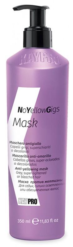 KAYPRO Маска против нежелательных желтых оттенков / MASK NO YELLOW GIG 350 мл