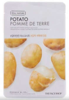 Маска с экстрактом картофеля THE FACE SHOP Real nature mask sheet snow potato