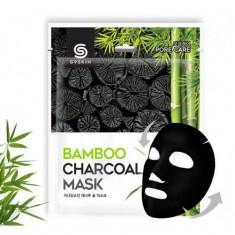 маска для лица тканевая с бамбуковым углем berrisom g9 skin bamboo charcoal