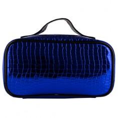 Косметичка-чемоданчик LADY PINK METAL синяя