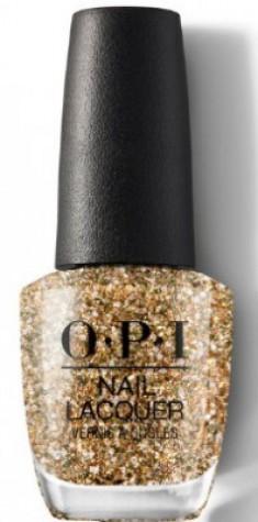 Лак для ногтей OPI HOL18 Nail Lacquer Gold Key tot he Kingdom HRK13