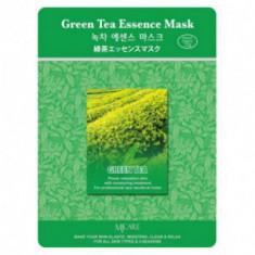 Маска тканевая зеленый чай Mijin Green Tea Essence Mask 23гр