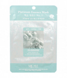 Маска тканевая платина Mijin Platinum Essence Mask 23гр