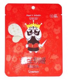 Маска тканевая для лица Berrisom Peking opera mask series KING 25мл