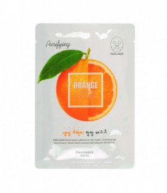 Маска для лица освежающая Welcos Kwailnara Orange Purifying Facial Mask