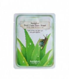 Маска тканевая улиточная Baviphat Snail Cure Mask Sheet 25гр