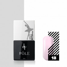 Pole, Гель-лак Lovely Ballerina №18, холодный розовый