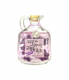 Маска тканевая фруктовая Baviphat Grape Juicy Mask Sheet (Lifting & Bright ) 23гр