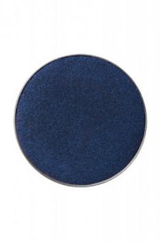 Тени пастель компактные сухие Make-Up Atelier Paris PL20 черно-синий, запаска 3,5г