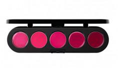 Палетка блесков и помад, 5 цветов Make-Up Atelier Paris №19 фиолетовая, 10г