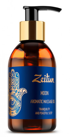 ZEITUN Масло ароматическое массажное Луна (лаванда, сандал, можжевельник) 100 мл