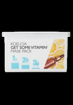 Тканевая маска с витамином С KOELCIA GET SOME VITAMIN C MASK PACK 30 шт