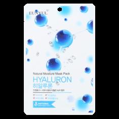 Тканевая маска с гиалуроновой кислотой EUNYUL NATURAL MOSTURE MASK PACK HYALURON 22мл