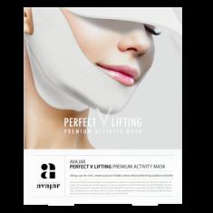 Маска лифтинговая с SPF защитой AVAJAR perfect V lifting premium activity mask 1шт
