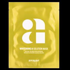 Маска осветляющая тканевая для лица Avajar Whitening A-Solution Mask 10 шт