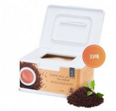 Маски для лица с экстрактом черного чая A'PIEU Daily Sheet Mask Black Tea/Hydrating 33шт