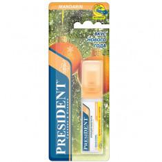 Президент Спрей для полости рта со вкусом мандарина без спирта 20мл President