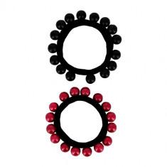 Набор резинок LADY PINK beads 2 шт