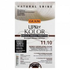Краска для волос GUAM UPKer KOLOR Блонд супер платиновый пепельный 11.10 215мл