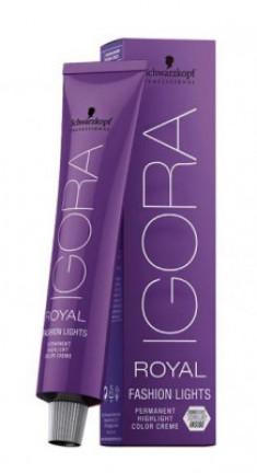 Крем-краска для цветного мелирования Schwarzkopf professional Igora Royal Fashion Light L-77 медный экстра 60мл