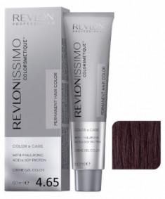 Краска перманентная Revlon Professional Revlonissimo Colorsmetique 4.65 Коричневый Красно-Махагоновый 60мл