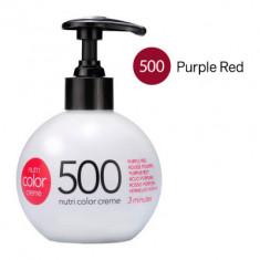 Краска для волос без аммиака Revlon Professional Nutri Color Creme 500 пурпурно-Красный 250мл