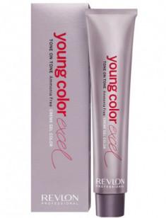 Крем-гель полуперманентный Revlon Professional Young Color Excel 6-65 пурпурно-красный 70 мл