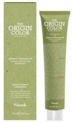 Краска для волос NOOK Origin Color Cream 5.5 Махагоновый Светлый Шатен 100 мл