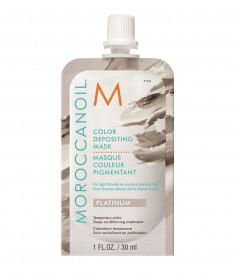 MOROCCANOIL Маска тонирующая для волос, платина / COLOR DEPOSITING MASK PLATINUM 30 мл