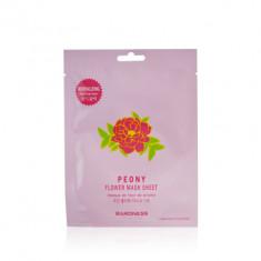 Тканевая маска восстанавливающая с экстрактом пиона BARONESS Flower Mask Sheet Peony 23 г