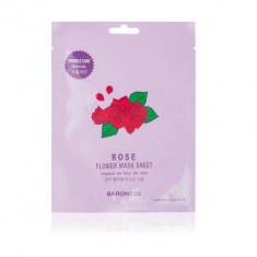 Тканевая маска увлажняющая с экстрактом розы BARONESS Rose Flower Mask Sheet 21 г