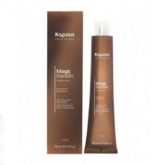 Крем-краска для волос с кератином Kapous Professional Magic Keratin - 6.00 Темный блондин интенсивный, 100 мл