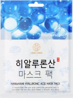 Тканевая маска с гиалуроновой кислотой HANIxHANI Hyaluronic Mask Pack 25 мл