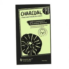 Пластырь для носа NAISTURE CHARCOAL для очищения пор с древесным углем 1 шт