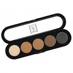 Палитра теней, 5 цветов Make-up Atelier Paris T01s натуральные тона
