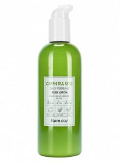 Лосьон для тела парфюмированный с экстрактом зеленого чая FarmStay Green Tea Seed Daily Perfume Body Lotion 330мл