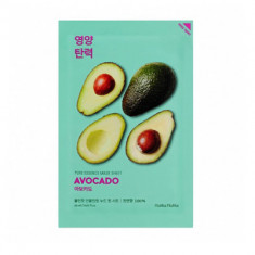 Маска тканевая смягчающая Holika Holika PURE ESSENCE авокадо, 20 мл