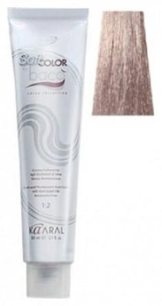 Крем-краситель полуперманентный безаммиачный Kaaral Baco Soft Color 10.10 платиновый пепельный блондин 60 мл