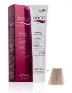 Крем-краска Kaaral Baco Color 10.12 очень светлый блондин пепельно-фиолетовый 100 мл
