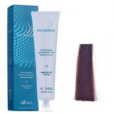 Крем-краситель стойкий без аммиака Kaaral Maraes Nourishing Permanent Hair Color 6.5 темный махагоновый блондин 60 мл