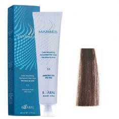 Крем-краситель стойкий без аммиака Kaaral Maraes Nourishing Permanent Hair Color 5.0 светлый каштан 60 мл